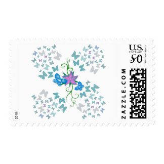 Butterfly Blue Postage