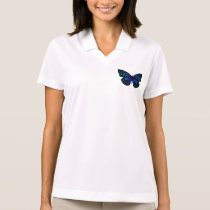 Butterfly Blue y Polo Shirt