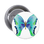 Butterfly Blues Buttons