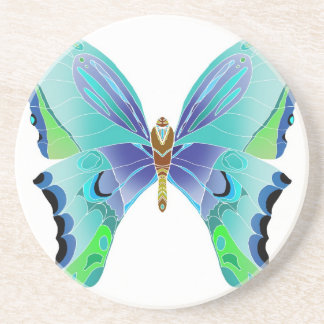 Butterfly Blues Coasters