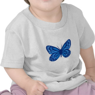 Butterfly Blues T-shirts