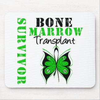Butterfly Bone Marrow Transplant Survivor Mouse Pad
