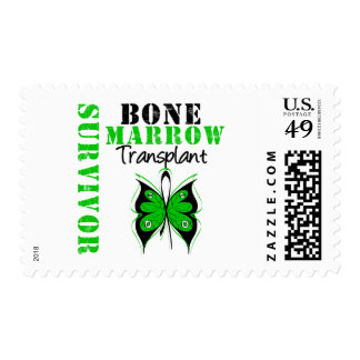 Butterfly Bone Marrow Transplant Survivor Postage Stamp