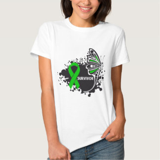 Butterfly Bone Marrow Transplant Survivor Tee Shirts