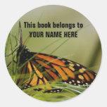 BUTTERFLY Book Sticker
