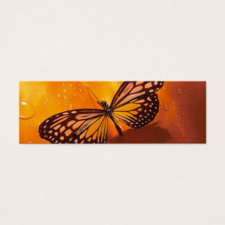 Butterfly Bookmark Mini Business Card