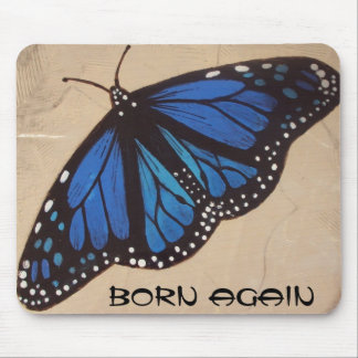 butterfly (born again) mouse pad