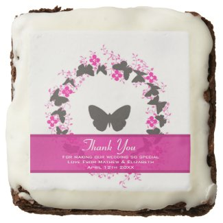 Butterfly Bouquet Ring Wedding Thank You Favors