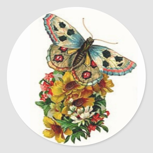 Butterfly Bouquet Stickers