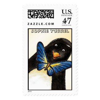 Butterfly Bow-tie stamp by Sophie Turrel