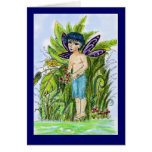 Butterfly Boy Greeting Card