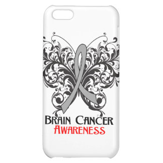 Butterfly Brain Cancer Awareness Case For iPhone 5C