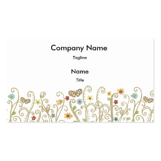 Butterfly Breezes Business Card