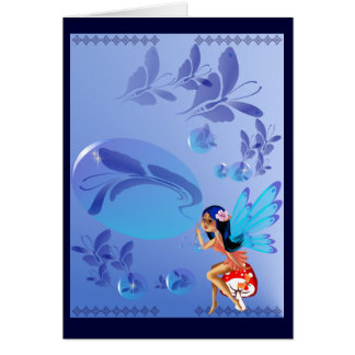 Butterfly Bubbles Card
