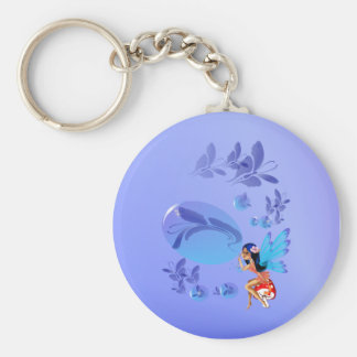 Butterfly Bubbles Keychain