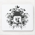 Butterfly Buddha Mouse Pads