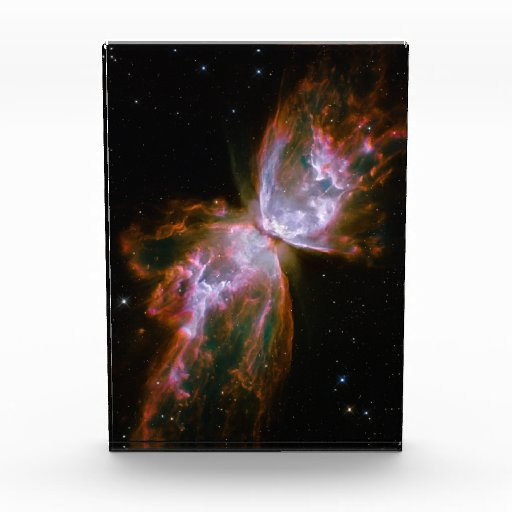 Butterfly / Bug Nebula Hubble Space Acrylic Award