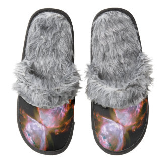 Butterfly  Bug Nebula Hubble Space NASA Astronomy Pair Of Fuzzy Slippers