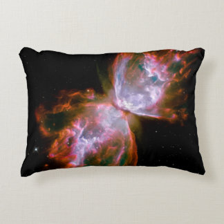 Butterfly  Bug Nebula Hubble Space NASA Astronomy Accent Pillow