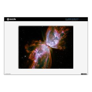 """Butterfly  Bug Nebula Hubble Space 12"""" Laptop Skin"""
