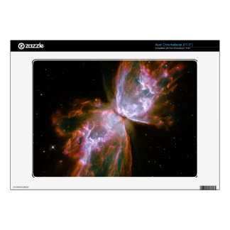 Butterfly  Bug Nebula Hubble Space Skins For Acer Chromebook