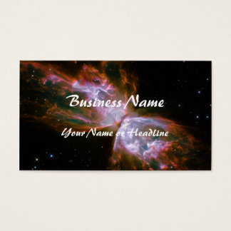 Butterfly / Bug Nebula (Hubble Telescope) Business Card