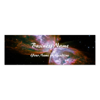 Butterfly / Bug Nebula (Hubble Telescope) Double-Sided Mini Business Cards (Pack Of 20)
