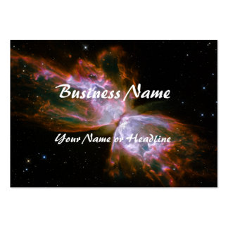 Butterfly / Bug Nebula (Hubble Telescope) Business Card Template