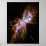 Butterfly / Bug Nebula (Hubble Telescope) Poster