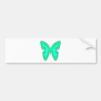 Butterfly Bumper Sticker