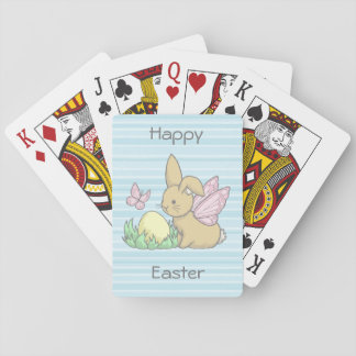 Butterfly Bunny and the Easter Egg Playing Cards