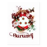 Butterfly Burundi Postcard
