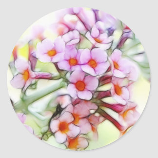 Butterfly Bush - Delicate and Dreamy Classic Round Sticker