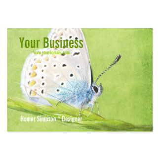 Butterfly Large Business Cards (Pack Of 100)