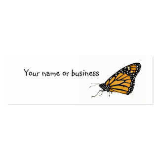 butterfly Double-Sided mini business cards (Pack of 20)