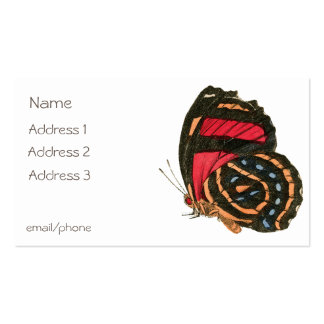 Butterfly Double-Sided Standard Business Cards (Pack Of 100)