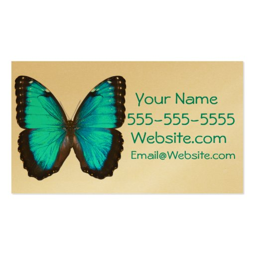 Quotbutterflyquot business card zazzle for Butterfly business cards