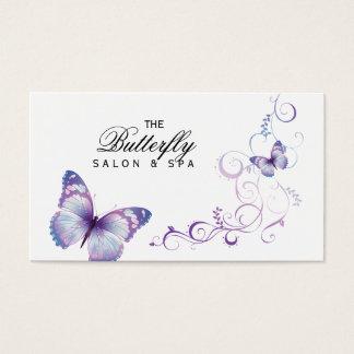 Butterfly Business Card Cute Salon Spa