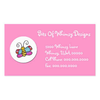 Butterfly Business Cards