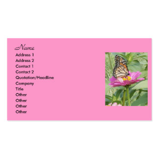 Butterfly Business Cards, Business Card