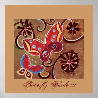Butterfly Bustle III poster