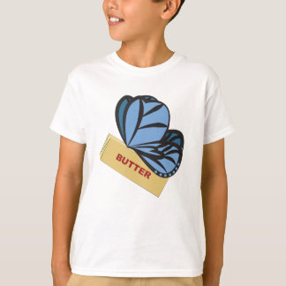 Butterfly... Butter Fly Ironic Graphic T-Shirt
