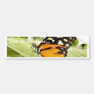 Butterfly Butterflies Car Bumper Sticker