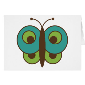 Butterfly Butterflies Insect Bug Lepidoptera Cute Card