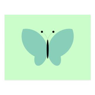 Butterfly Butterflies Insect Bug Lepidoptera Cute Postcard