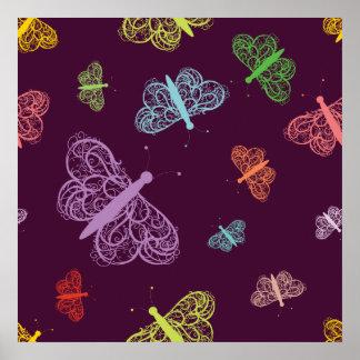 Butterfly Butterflies Moth Moths Posters