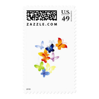 Butterfly Butterflies Postage Stamps