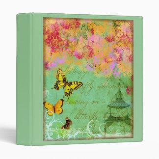 Butterfly, Butterfly Binder Notebook