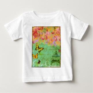 Butterfly,butterfly Collage Art Girls T-shirt