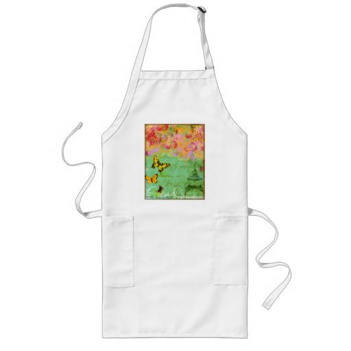 Butterfly, butterfly Collage Print Apron